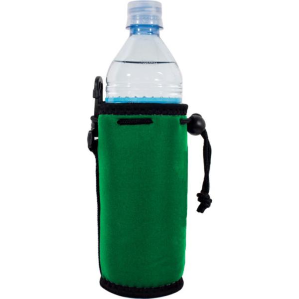 blank wholesale water bottle coolie koozie green