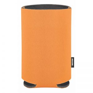 Blank KOOZIE® Collapsible Can Kooler Orange