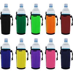 blank water bottle coolie variety pack