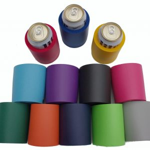 blank wholesale thick foam can old school variety color 12 pack