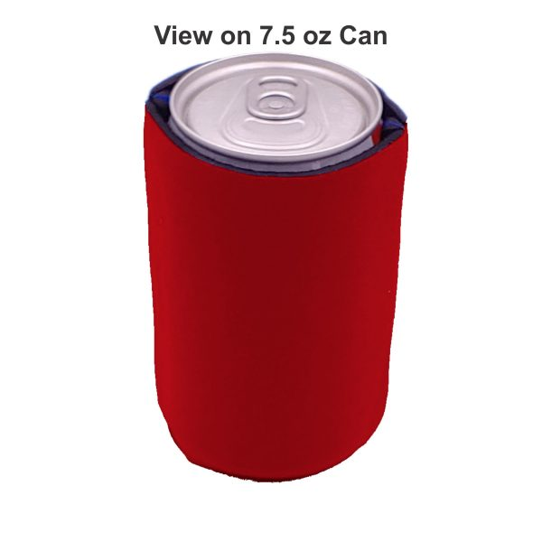 mini slim 7.5 oz can coolie view